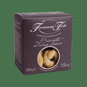 confezione biscotti vino bianco